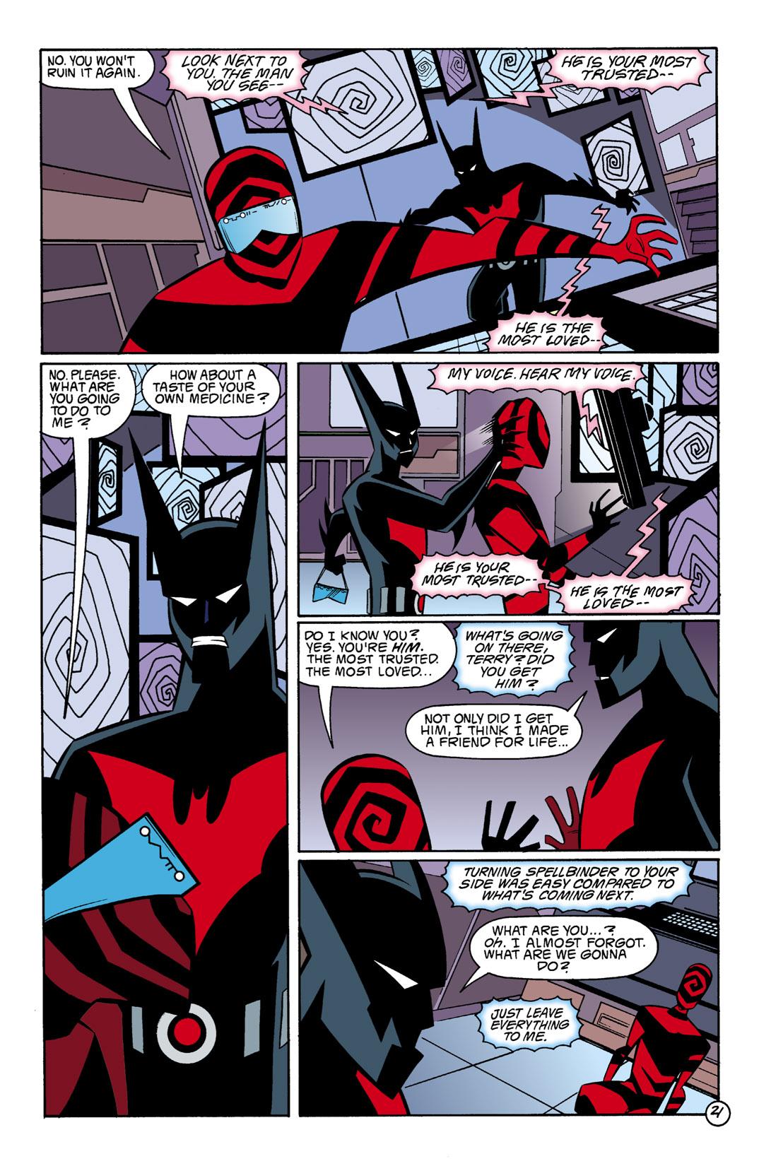 Batman Beyond [II] Issue #1 #1 - English 22
