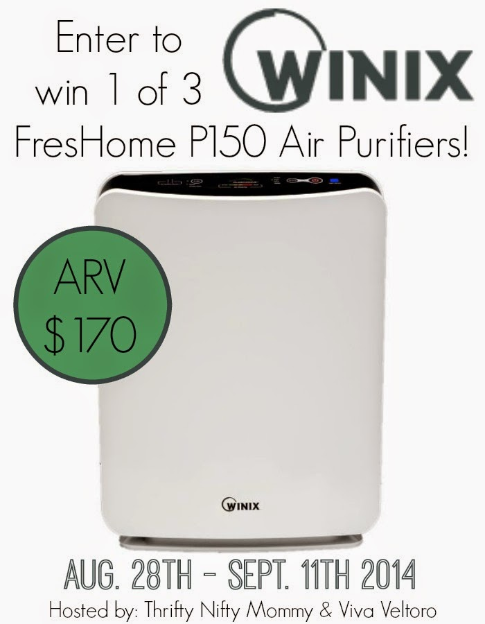 Winix FresHome P150 Air Purifier Giveaway