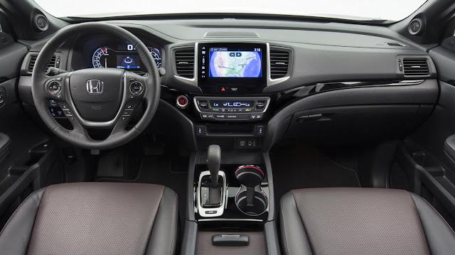 2017 Honda Ridgeline Pickup Truck