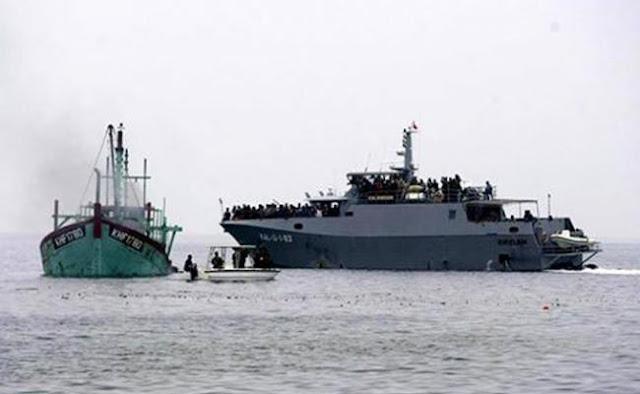 Berantas Ilagel fishing, Satgas 115 Segera Diperkuat Pesawat Patroli