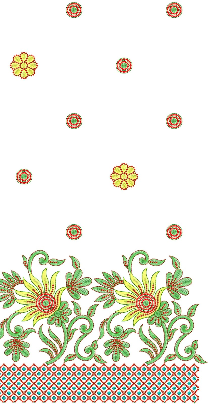 SAREE EMBROIDERY PATTERNS U00ab Free Patterns