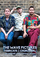 The Wave Pictures, Tigercats + Chorusgirl