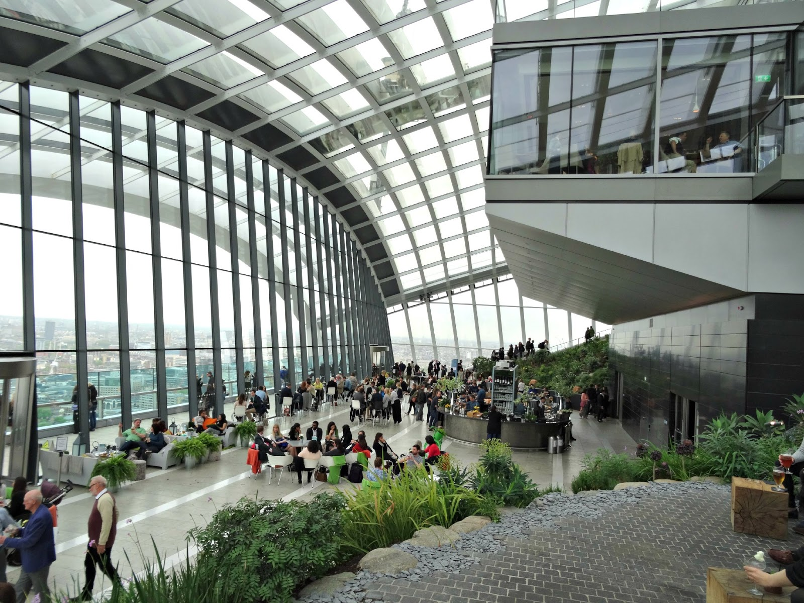 Style lingua lifestyle a visit to londons sky garden sky garden london review sisterspd