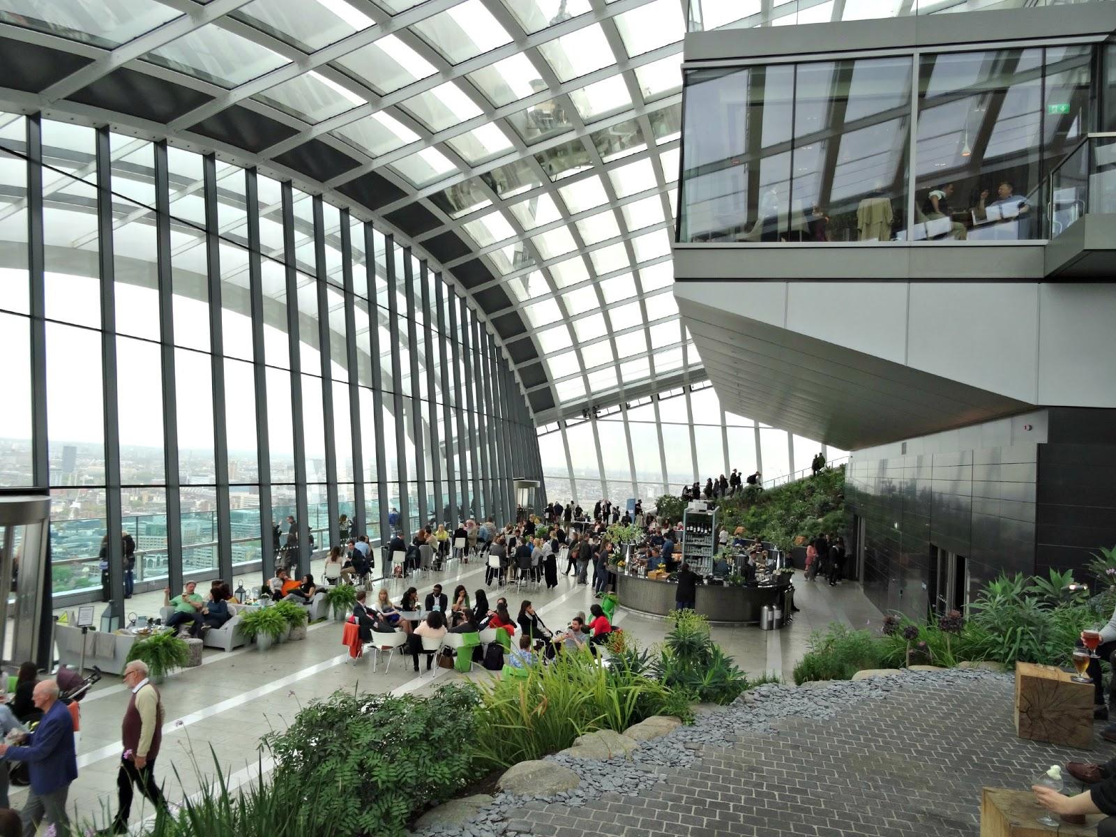 Sky Garden London review