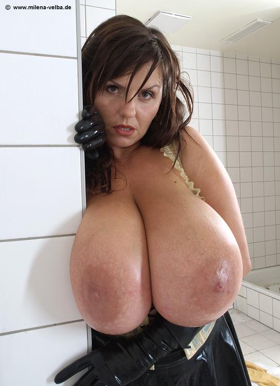 Милена вельба в ванной