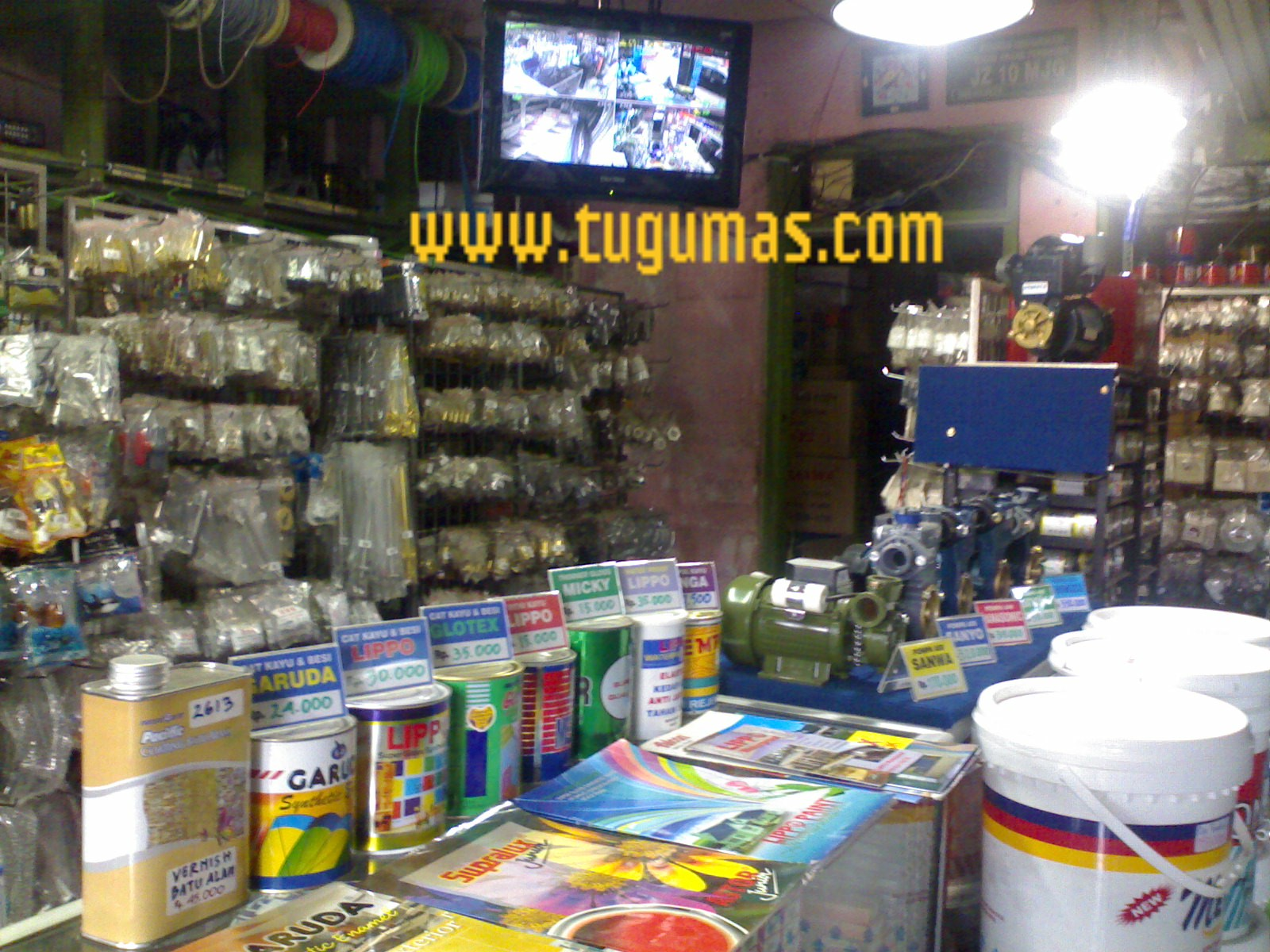 Display Fiting PVC dan Kuningan
