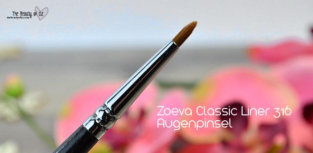 Zoeva Augenpinsel Classic Liner 316