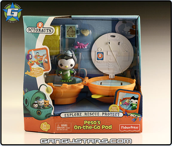 Octonauts Peso's On the Go Pod Fisher-Price www.gangustars.com