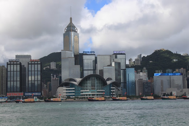 Hong Kong Convention and Exhibition Centre and Central Plaza are another famous landmarks across Victoria Harbour in Hong Kong