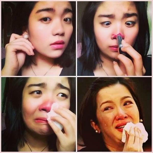 Kris Aquino makeuptransformation