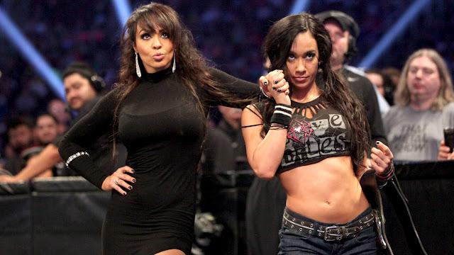 WWE Diva Layla El - AJ Lee