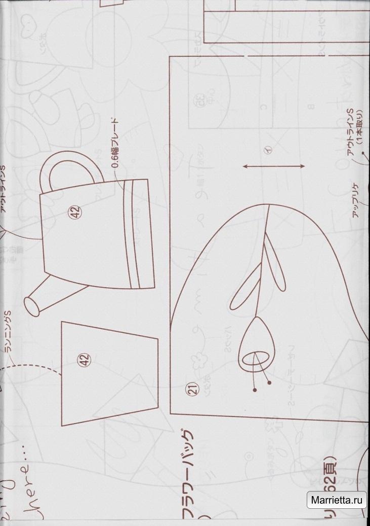Элегантная сумочка в технике пэчворк. Шьем сами