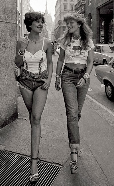 Дънкови панталонки Стрийт Стайл 1974 г.
