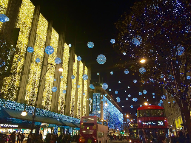 Oxford Street, London Christmas Lights