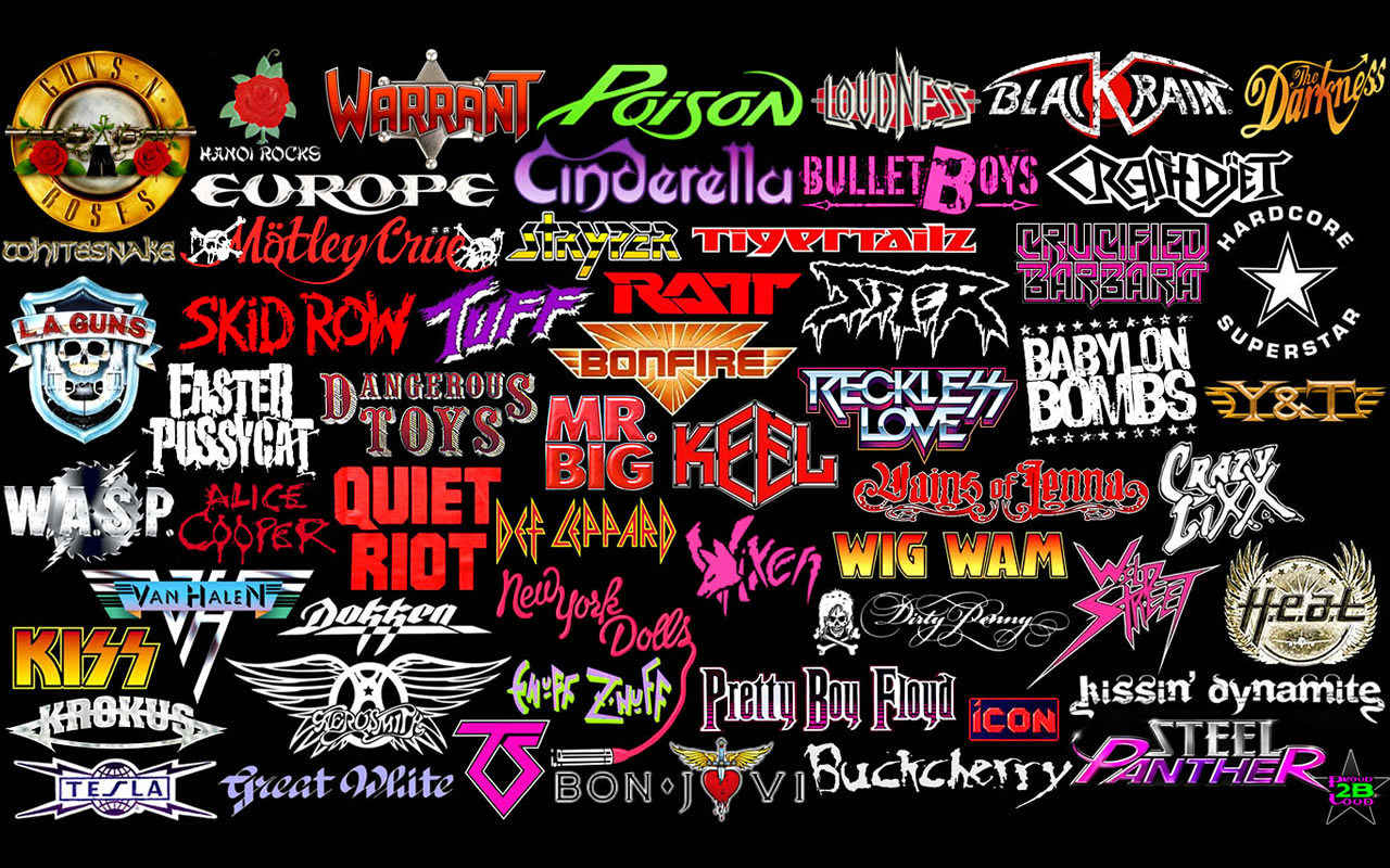 Proud 2B Loud: Wallpapers: Bands Logos by Proud2BLoud