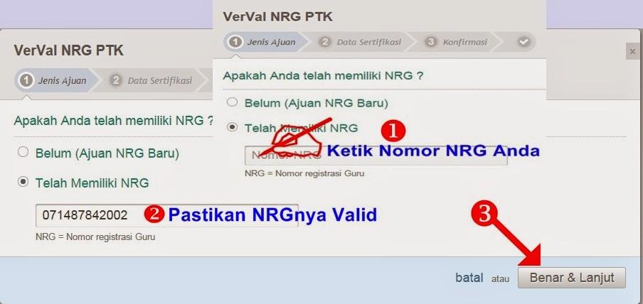 Masukkan NRG