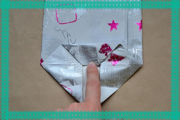 Como hacer una bolsa de regalo con papel imagui - Como hacer bolsas de regalo ...