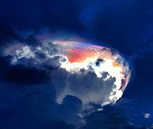 awan setan di Costa rica