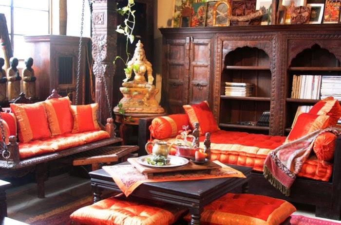 Desain Interior Rumah Sederhana Minimalis Indian