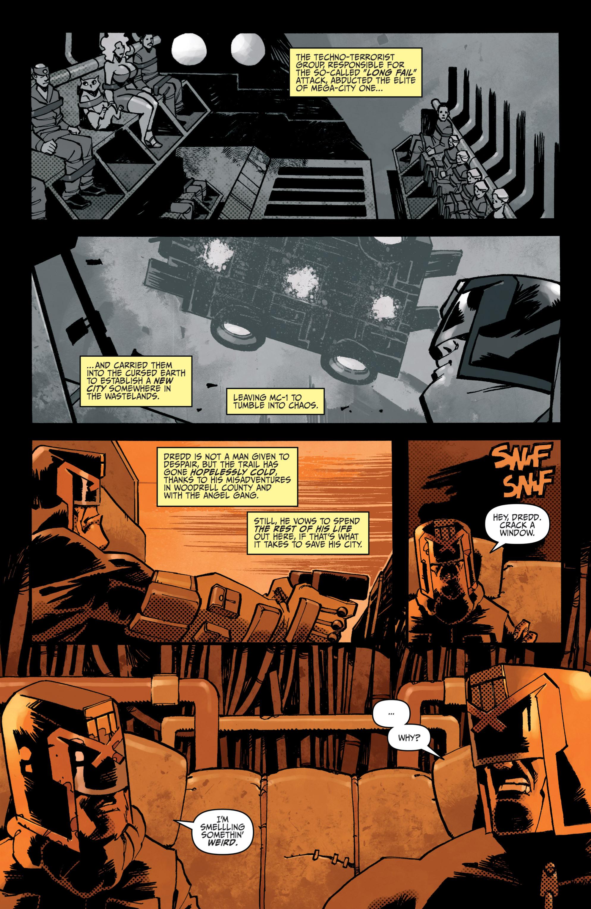 Read online Judge Dredd (2012) comic -  Issue # _TPB 3 - 86