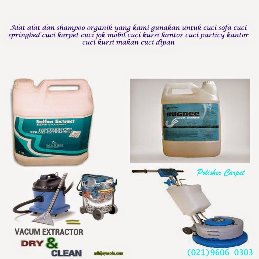 Kegunaan Alat Dan Shampoo Organik
