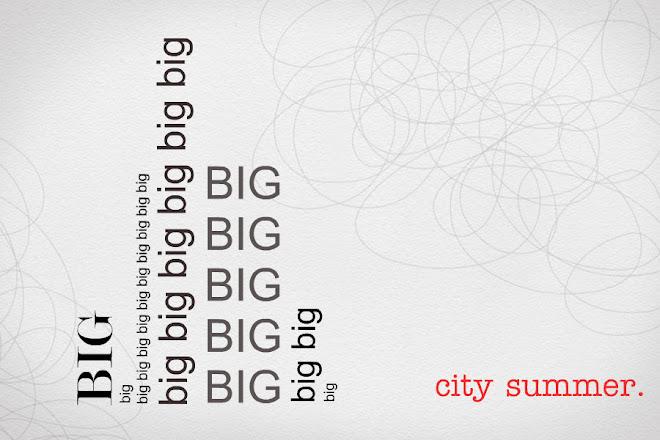 big city summer