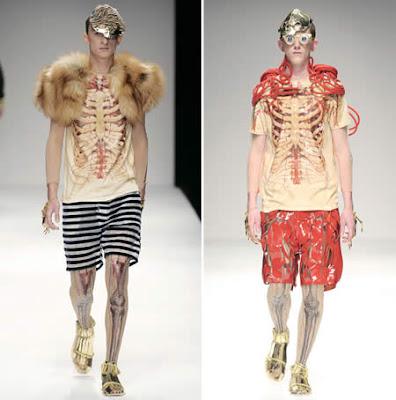 20 Weirdest Fashion Trends: Anatomy Dress