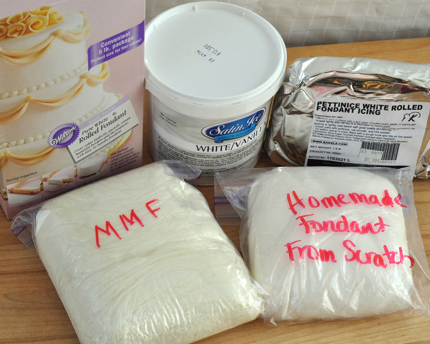 how to store marshmallow fondant
