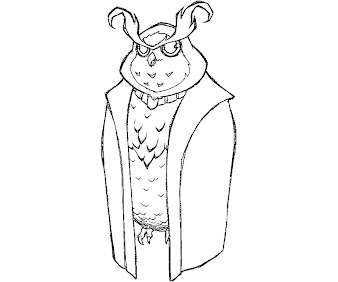 #1 The Night of Rabbit Coloring Page