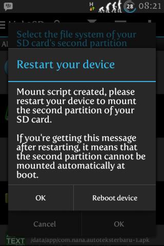 Cara memindahkan aplikasi dari insternal SD Card ke Eksternal SD Card menggunakan Link2SD 3