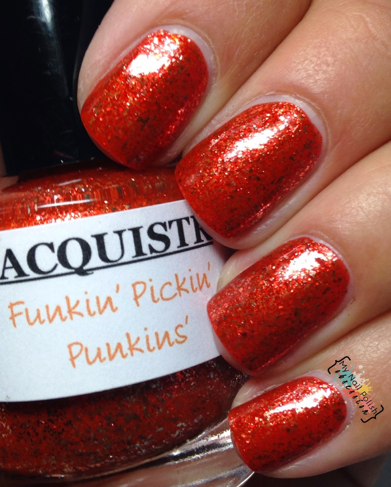 Lacquistry Funkin' Pickin' Punkins'