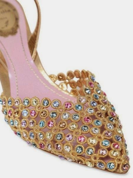 high heal sandal designs for brides of Pakistan