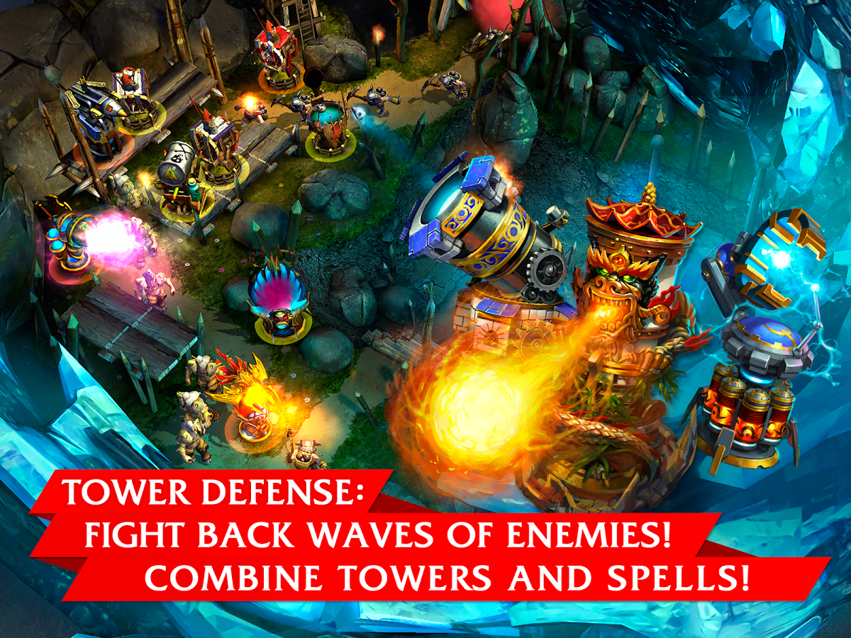 Defenders v1.6.55502 APK+DATA (Unlimited Money)