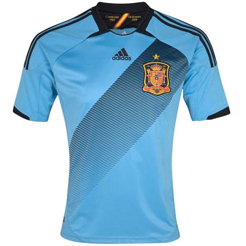 segunda camiseta España Eurocopa 2012