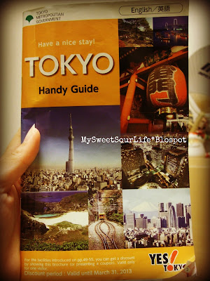 Tokyo Handy Guide Book
