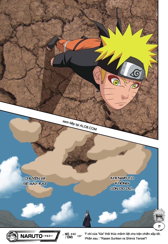 Naruto chap 440 Trang 17 - Mangak.info