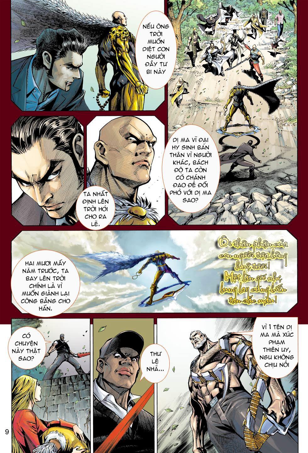 Thần Binh 4 chap 16 - Trang 9