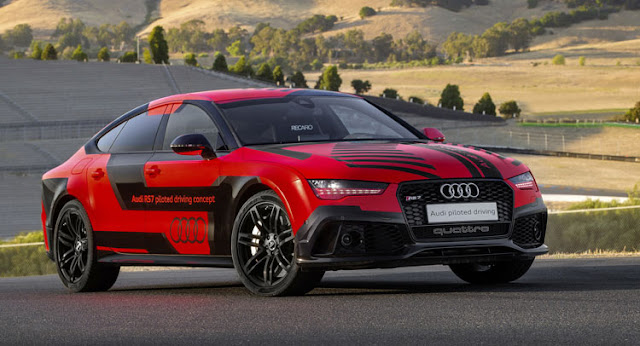 Audi RS7 Piloted Driving Concept