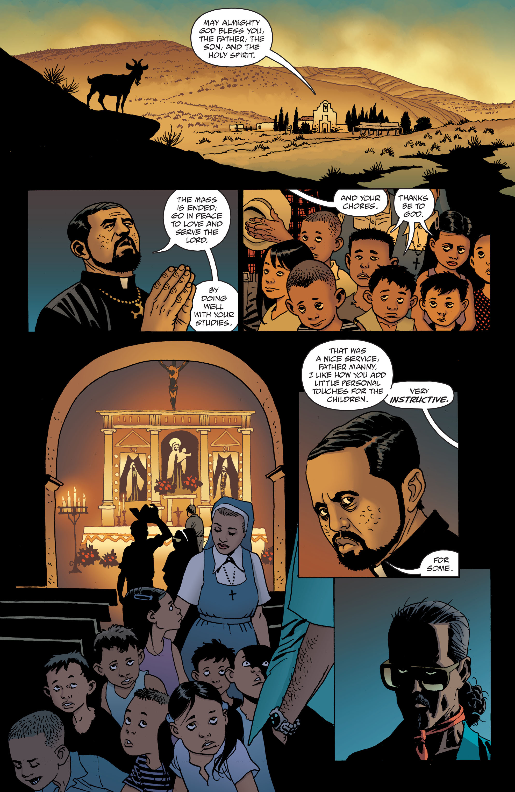 100 Bullets: Brother Lono Full Page 15