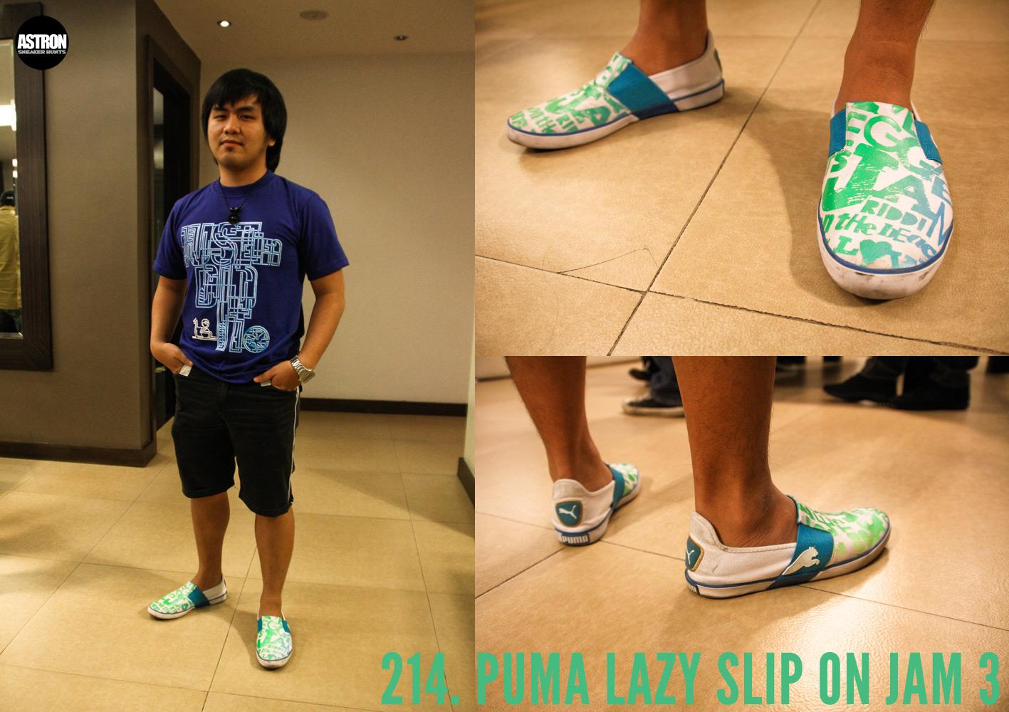 348efa26ab35 Astron Sneaker Hunts  214. Puma Lazy Slip On Jam 3