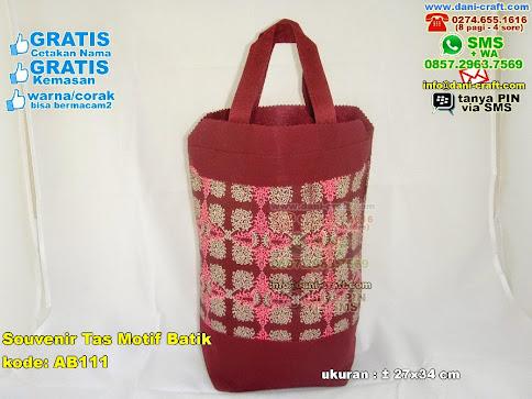 souvenir tas motif batik
