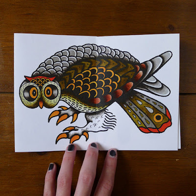 ΚΟΥΚΟΥΒΑΓΙΑ ΤΑΤΟΥΑΖ, Tattoo Flash - Sheets + Lines set 4,