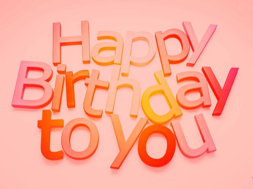 Happy Birthday To You Wallpaper HD