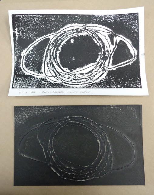 collograph print