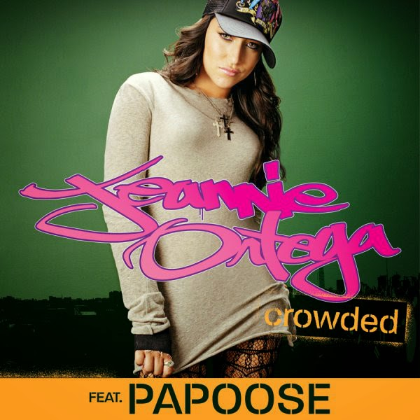 Jeannie Ortega featuring Papoose - Crowded - Single Cover