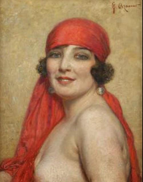 La mujer consigue el fondo desnudo calentado