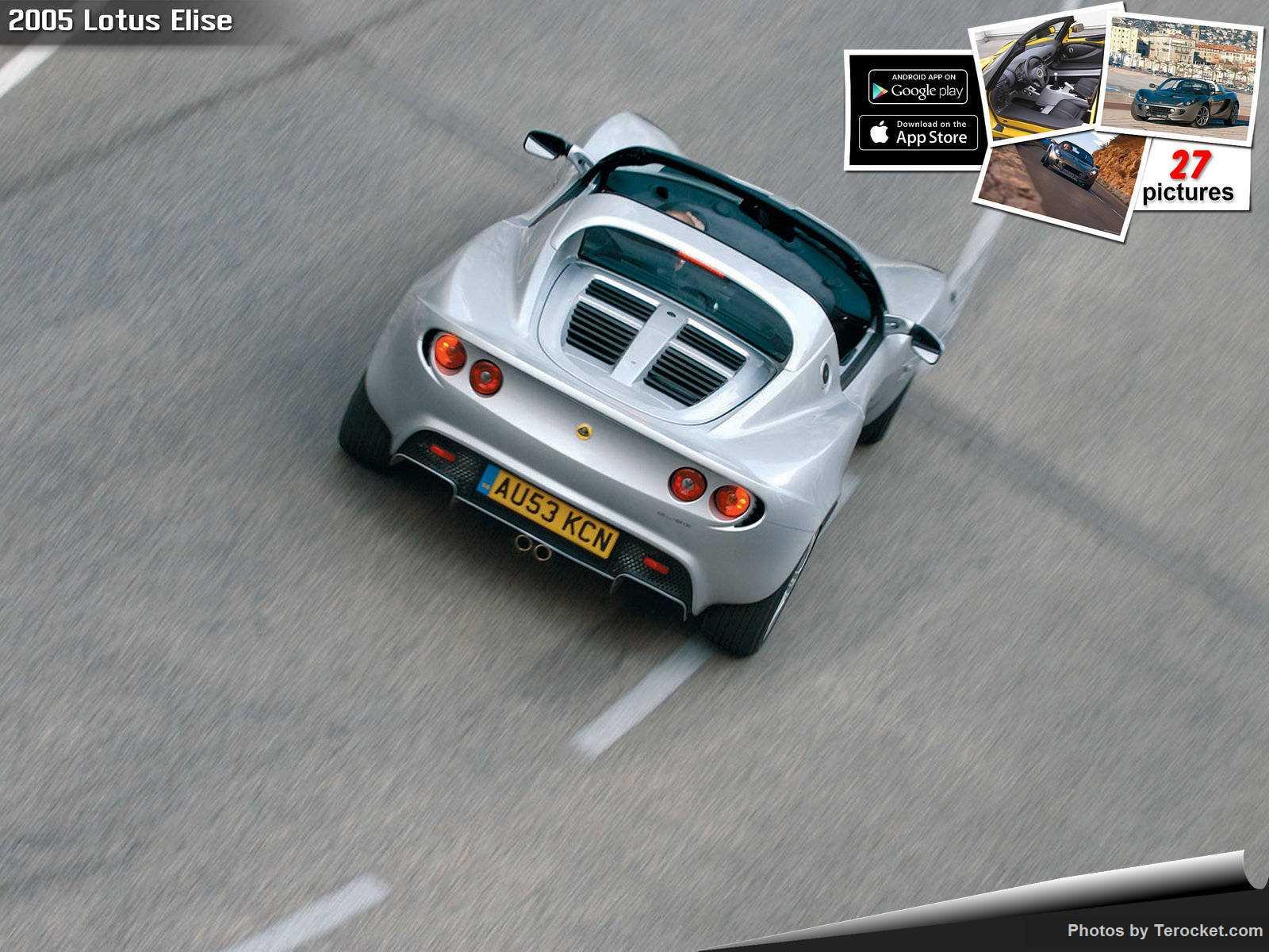 Hình ảnh siêu xe Lotus Elise 2005 & nội ngoại thất