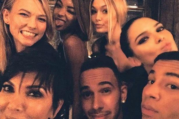 Hamilton With Models