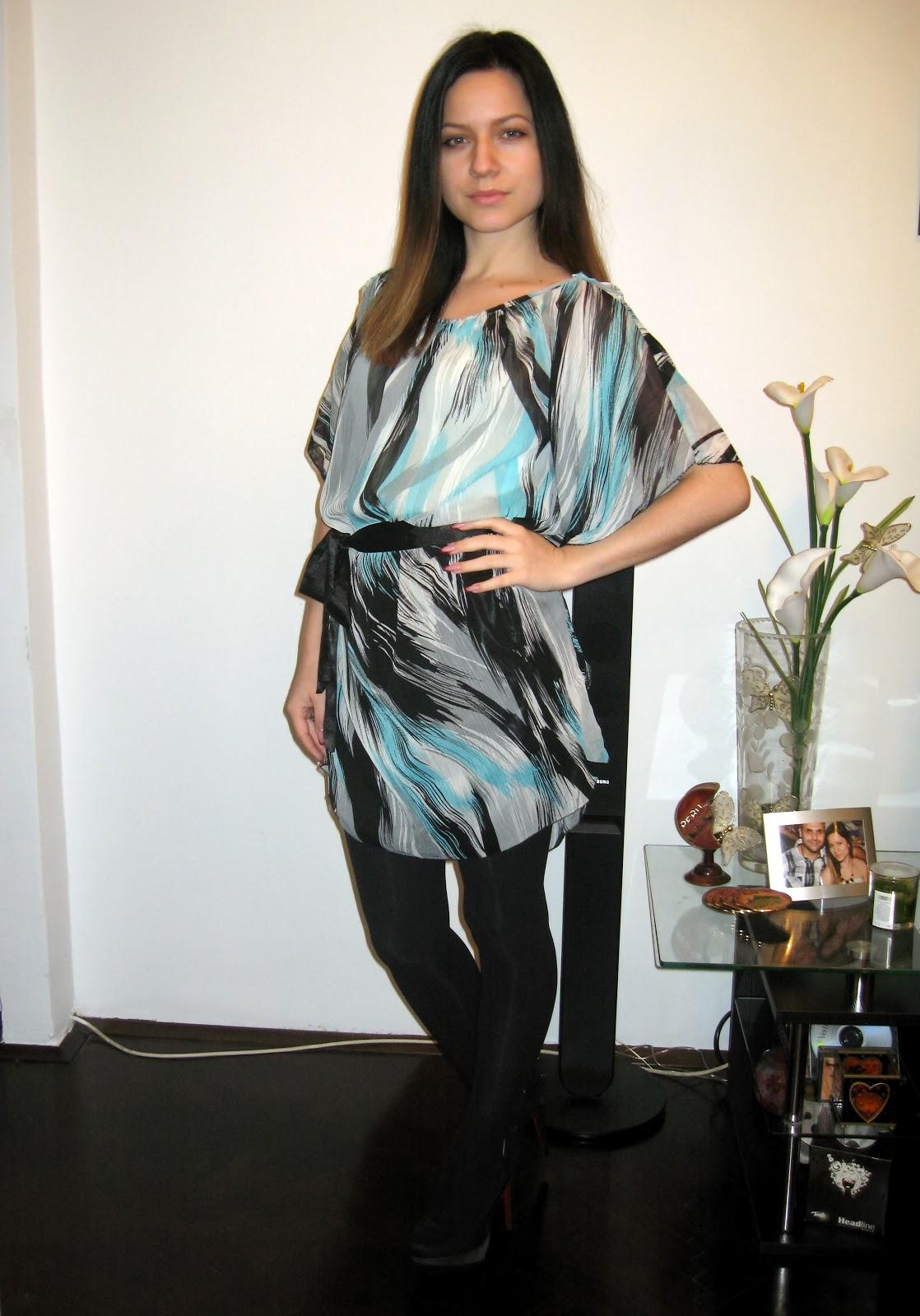pattern dress