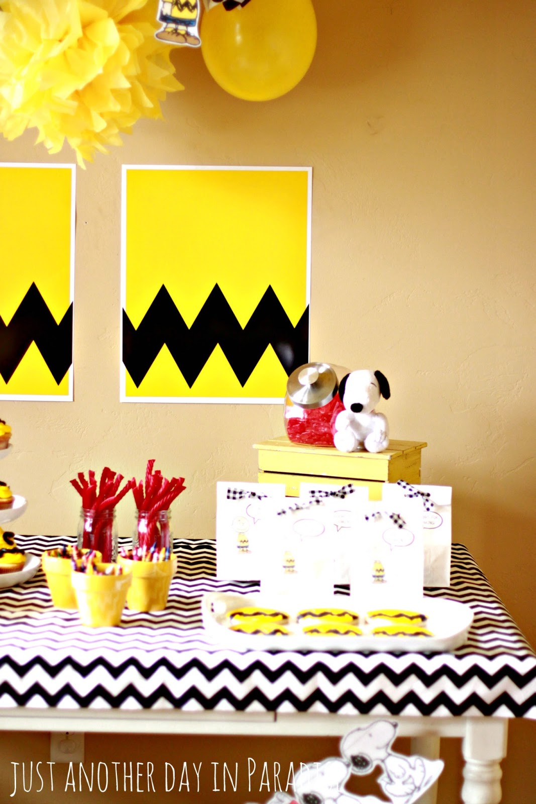 Larissa Another Day: A Charlie Brown Birthday Party